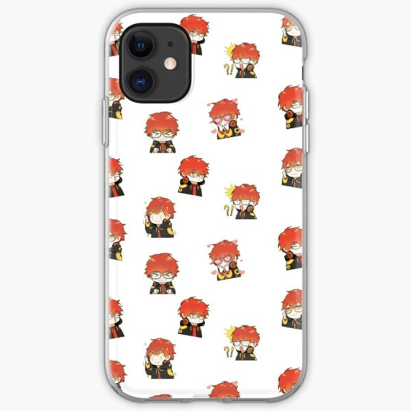 Mystic messenger 707 seven saeyoung iPhone Soft Case