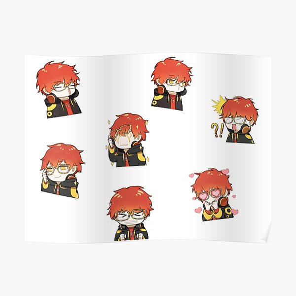 Mystic messenger 707 seven saeyoung Poster