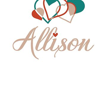 A cute design for Allison by jazzworldquest