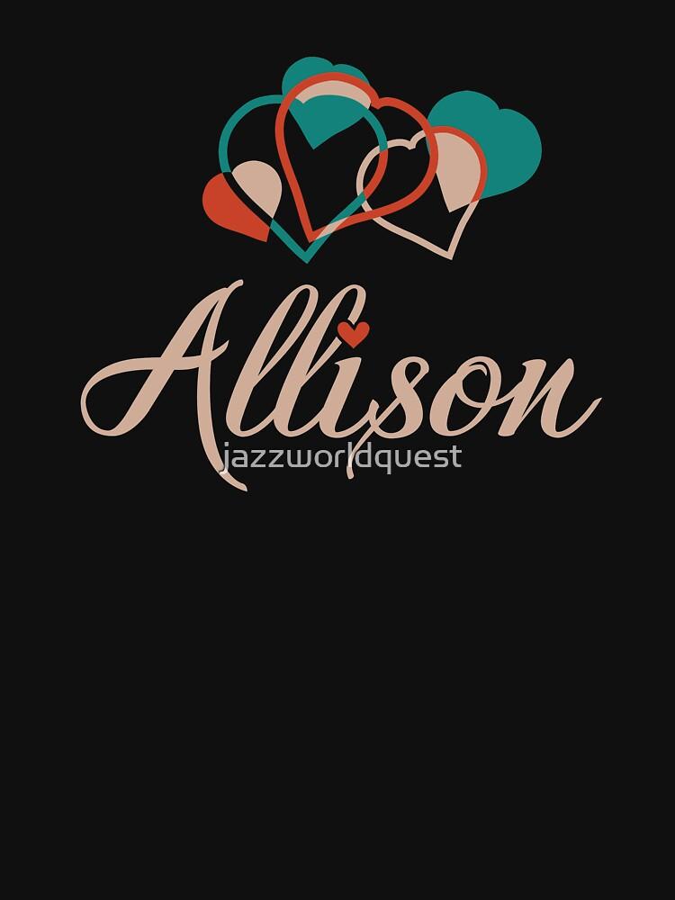A cute design for Allison by jazzworldquest