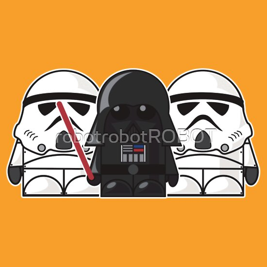 TShirtGifter presents: Darth Vader and Stormtroopers