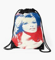 B. B. - Pop Art Fashion Icons Drawstring Bag