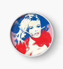B. B. - Pop Art Fashion Icons Clock