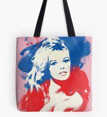 B. B. - Pop Art Fashion Icons Tote Bag