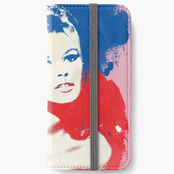 B. B. - Pop Art Fashion Icons iPhone Wallet