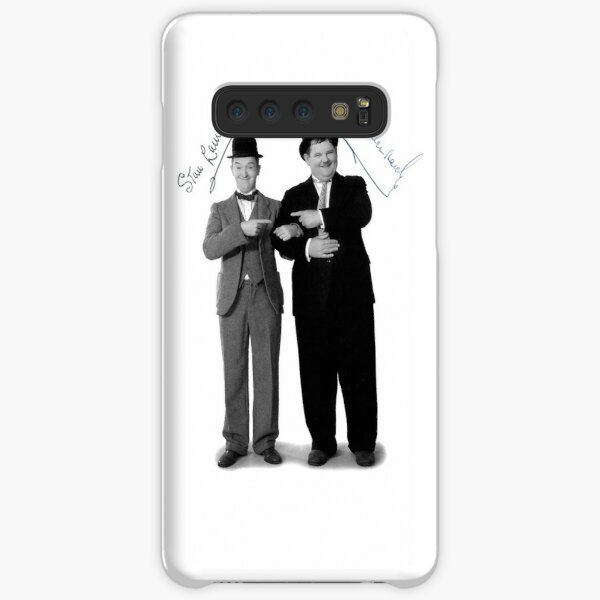 Laurel and Hardy Signature Samsung Galaxy Snap Case