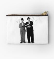 Laurel and Hardy Signature Studio Pouch