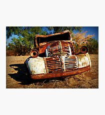 Rusty Photographic Print