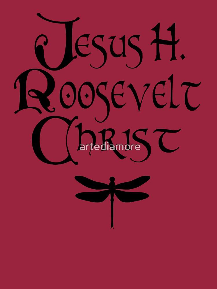 Jesus H. Roosevelt Christus von artediamore