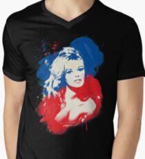 B. B. - Pop Art Fashion Icons V-Neck T-Shirt