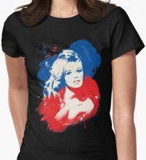 B. B. - Pop Art Fashion Icons Women's Fitted T-Shirt