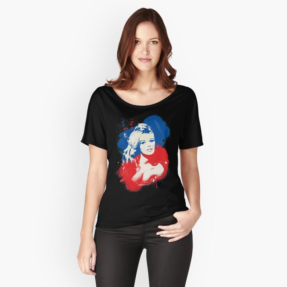 B. B. - Pop Art Fashion Icons Relaxed Fit T-Shirt
