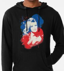B. B. - Pop Art Fashion Icons Lightweight Hoodie