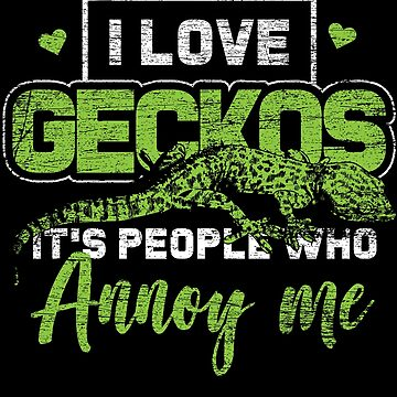 Gecko passion by GeschenkIdee