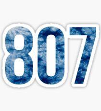 807 Sticker