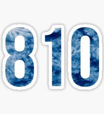 810 Sticker