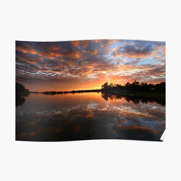 Yellow Water Dawn - Kakadu National Park Poster