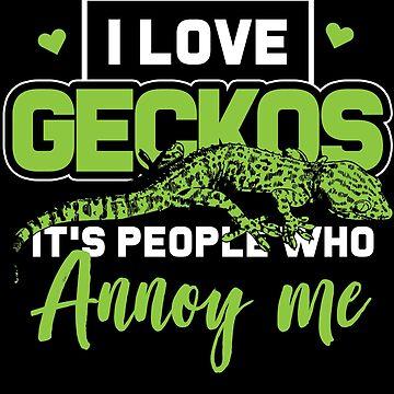 Gecko love by GeschenkIdee