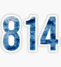 814 Sticker