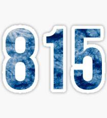 815 Sticker