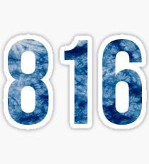 816 Sticker