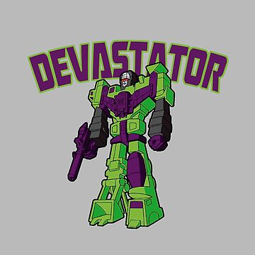 DEVASTATOR (1° GENERATION) TRANSFORMERS by SUNSET-STORE