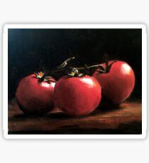 Three Tomatoes Sticker