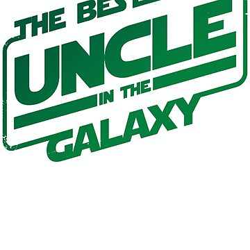 The Best Uncle In The Galaxy Onkel Family by Manqoo