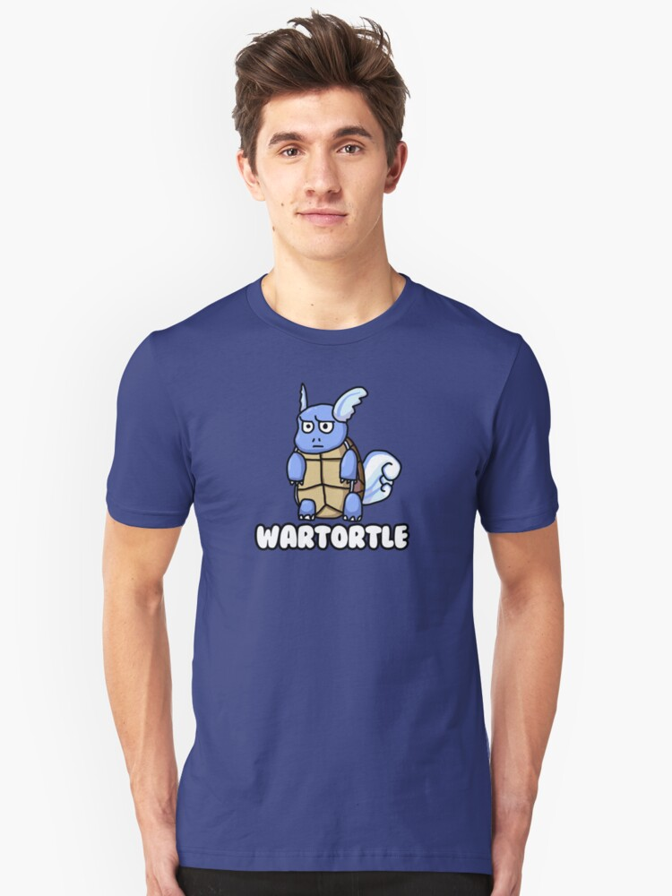 Wartortle is Judging You Unisex T-Shirt Front