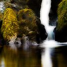 Waterfall near Glengarriff by Marloag