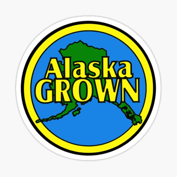 Alaska Grown Sticker