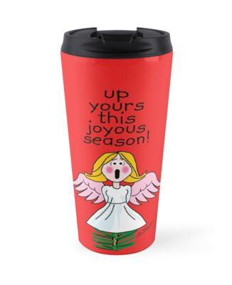 Up Yours This Joyous Season! by atheistcards