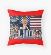 Super State of the Union Address Throw Pillow