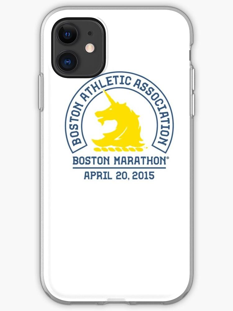 BOSTON MARATHON 2015 iphone case