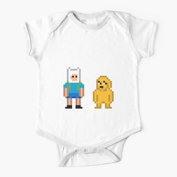 Fin und Jake Baby Body Kurzarm