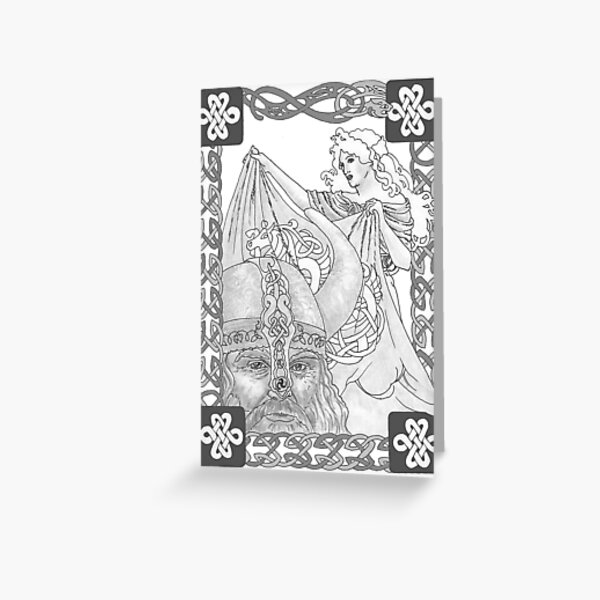 Viking Dreams Greeting Card