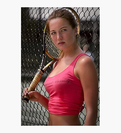 Raquet Games Photographic Print