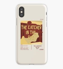 Catcher In The Rye - Vintage Movie Poster Style iPhone Case
