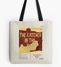 Catcher In The Rye - Vintage Movie Poster Style Tote Bag