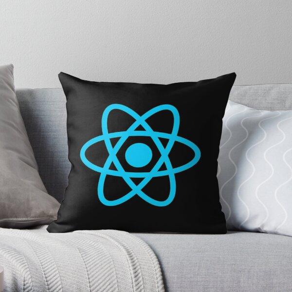 React Logo Throw Pillow