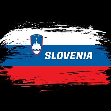 Slovenia flag / gift national color by Rocky2018