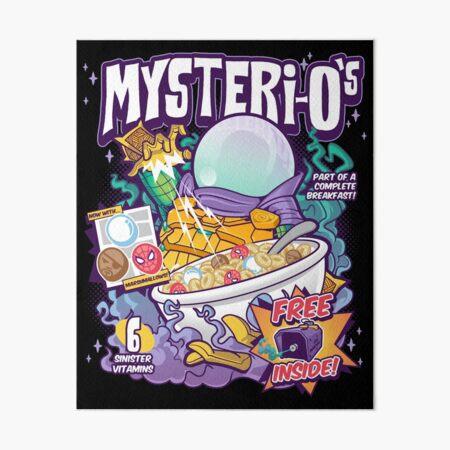 Mysteri-O's Art Board Print