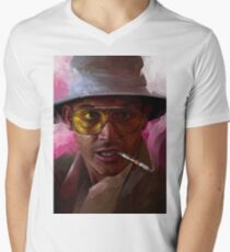 fear and loathing Men's V-Neck T-Shirt