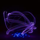 Purple and Blue Lights Orb by MovingInColor