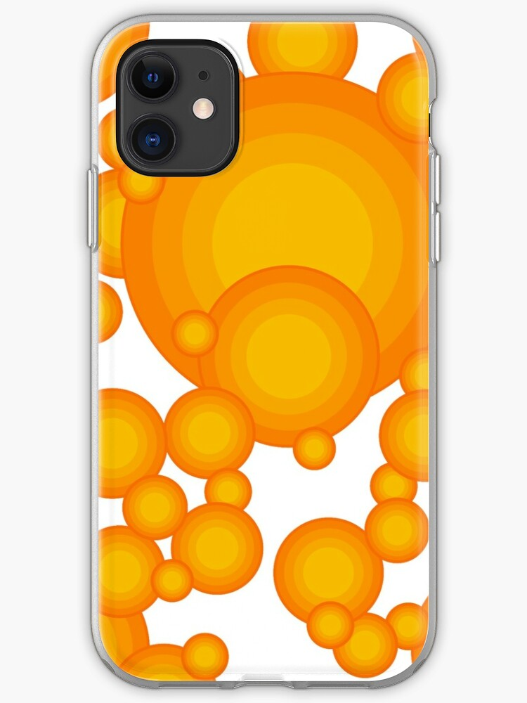 'The Orange 70's year styling ' iPhone-Hülle & Cover von pASob-dESIGN