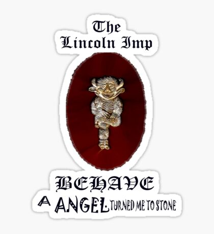The Lincon Imp ~ Tee Shirt Sticker