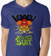ALTERED SUIT Men's V-Neck T-Shirt