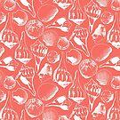 Coral Marco Shells by LIMEZINNIASDES