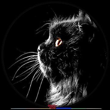 social black cat by Grimm-Land