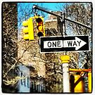 Street signs, New York City by crashbangwallop
